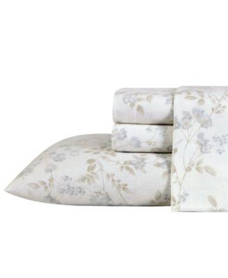 Fawna Flannel Cotton Twin Sheet Set