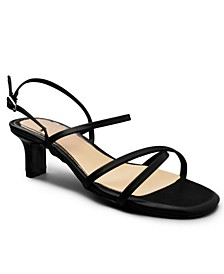 Women's Nacole Strappy Kitten Heel Sandals