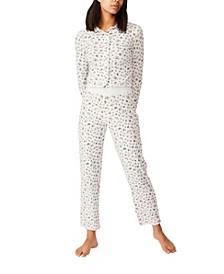 Knit Pointelle Sleep Pant