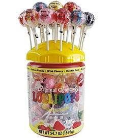Food Company Lollipop Tub, 54 Oz, 50 Count