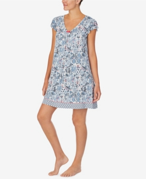 Ellen Tracy WOMEN'S SHORT SLEEVE CHEMISE
