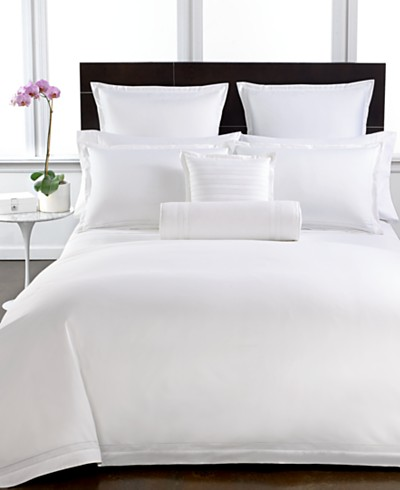Hotel Collection 800 Thread Count White Cotton Duvet Covers