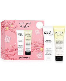 2-Pc. Mask, Peel & Glow Gift Set