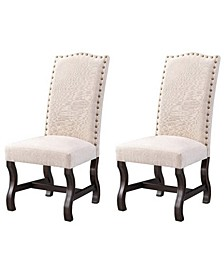 Upholstered Accent Chairs, Set of 2
