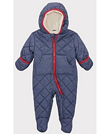 Rothschild Baby Boys Denim Like Quilt Pram