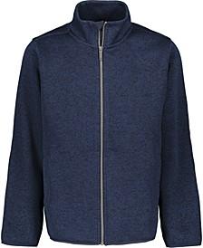 Big Boys Sweater Fleece Jacket
