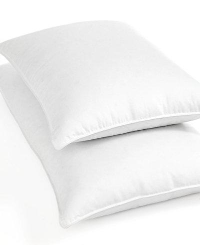 CLOSEOUT! Blue Ridge Bedding, 1000 Thread Count Egyptian Cotton White Down Standard Pillow