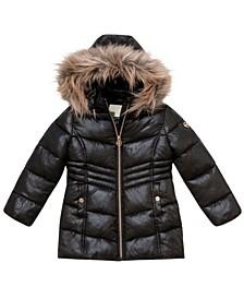 Toddler Girls Stadium Length Puffer Jacket