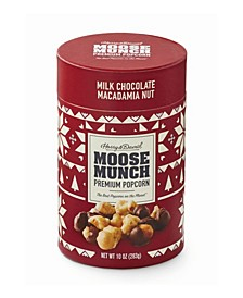 Moose Munch Milk Chocolate Macademia Nut Canister, 10oz
