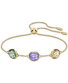 Multicolor Crystal Slider Bracelet