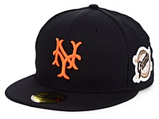 New York Giants World Series Patch 59 FIFTY-FITTED Cap
