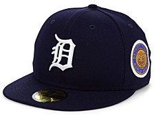 Detroit Tigers World Series Patch 59 FIFTY-FITTED Cap