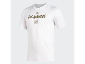 adidas Men's Los Angeles Football Club Wordmark Goals T-Shirt