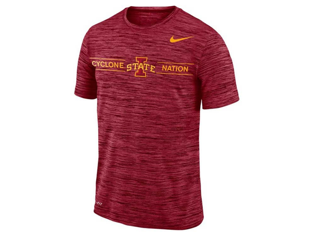 Nike Mens Iowa State Cyclones Legend Velocity T-Shirt
