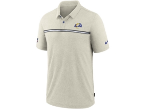 Nike Los Angeles Rams Men's Dri-Fit Short Sleeve Polo