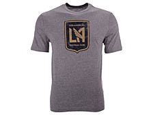Men's Los Angeles Football Club Distressed Primary Logo T-Shirt