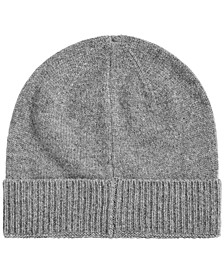 Men's Cashmere Beanie, Created for Macy's