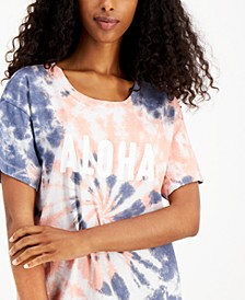 Boyfriend Fit Pajama Top, Created for Macy's