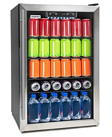 IBC41FNSS 180-Can Capacity Stainless Steel Digitally Controlled Beverage Center Refrigerator and Cooler