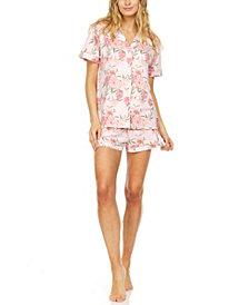 Flora by Flora Nikrooz Printed Pajama Shorts Set