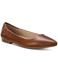 Jilly Pointed-Toe Flats, Created for Macy's