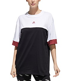 Women's New Authentic Cotton Colorblocked Top