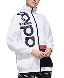 Women's New Authentic Colorblocked Track Jacket