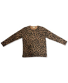 Animal-Print Pullover Sweater, Created for Macy's