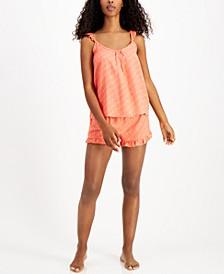 Printed Tank & Shorts Pajama Set