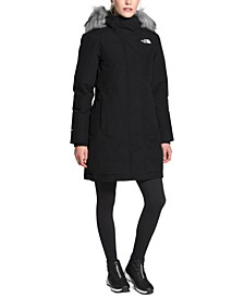 Arctic Hooded Faux-Fur-Trim Parka