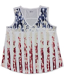 Flag Graphic Tank Top, Created for Macy's