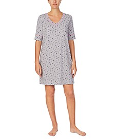 Cuddl Smart Moisture Wicking Sleep Shirt Nightgown