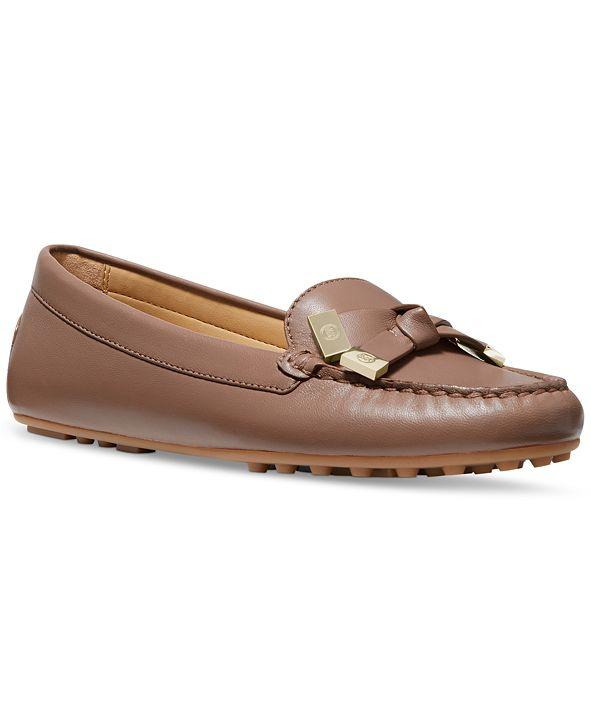 Michael Kors Ripley Moc-Toe Loafers