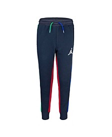 Big Boys Colorblock Fleece Pants