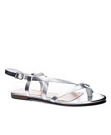 Chinese Laundry Women's Active Open Toe Flat Sandal