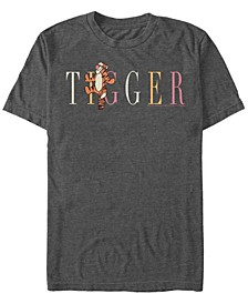 Men's Tigger Fashion Short Sleeve T-Shirt