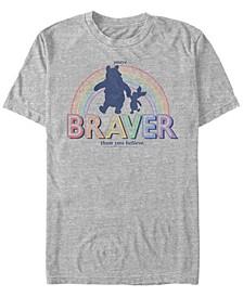 Men's Brave Bear Short Sleeve T-Shirt