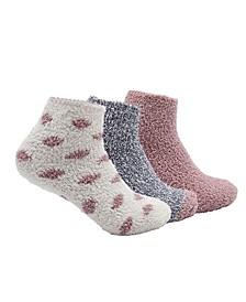 by Shelli Segal Women's Cozy Crew Socks, 3 Pack