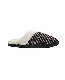 Women's Knit Slip On House Slippers