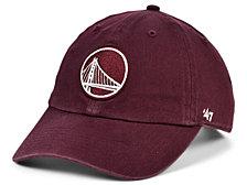 '47 Brand Golden State Warriors Basic Fashion Clean Up Cap