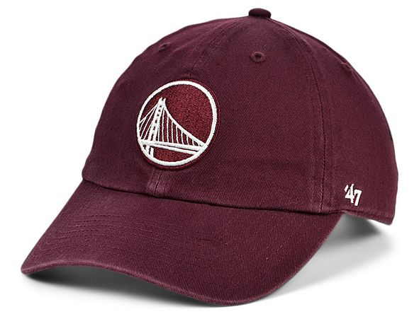 '47 Brand Golden State Warriors Basic Fashion Clean Up Cap