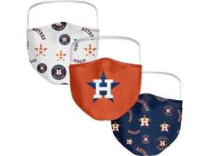 Houston Astros 3-Pk. Face Mask