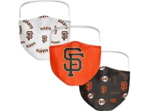 San Francisco Giants 3-Pk. Face Mask