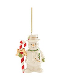 2020 Candy Cane Snowman Ornament