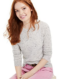 Cashmere Donegal Crewneck Sweater, Created for Macy's