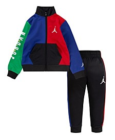 Baby Boys Colorblock Tracksuit