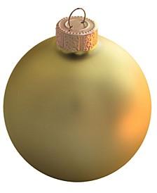 Matte Christmas Ornaments, Box of 8