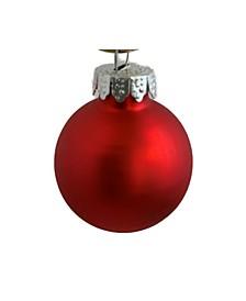 Matte Christmas Ornaments, Box of 12