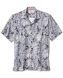 Men's Coconut Point Fronds-Print Camp Shirt