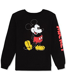 Juniors' Mickey Mouse Sweatshirt